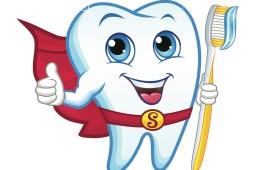 Teeth Superhero Graphic