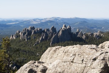 Black Elk Peak View