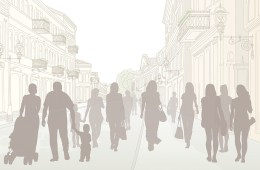 Strangers in City Graphic