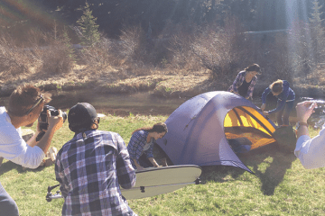 Camping Photoshoot