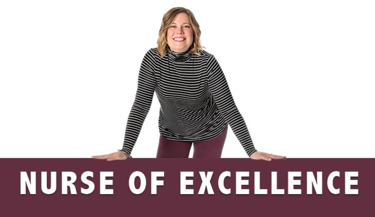 Jessica Nurse of Excellence