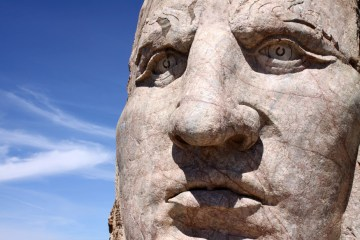 Volksmarch Crazy Horse Face
