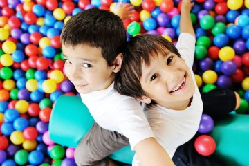 Imagination Boys in Ball Pit