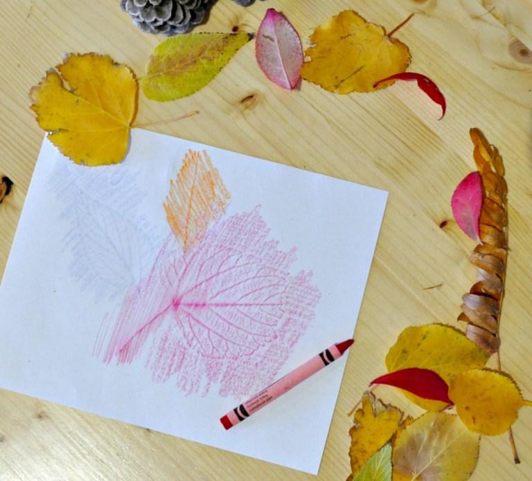 Leaf Coloring Crayon