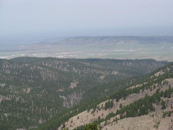 Mt. Roosevelt view, Deadwood, SD