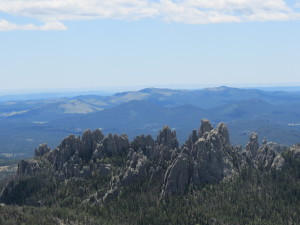 Harney Peak, the view from the top.