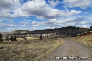 Lookout Mountain From Thoen Stone Trail Spearfish, SD