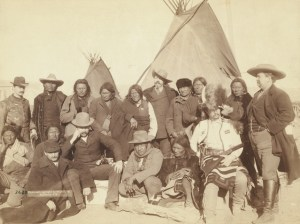 Native Americans and officials
