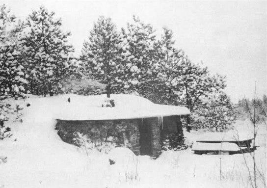House Winter Snow