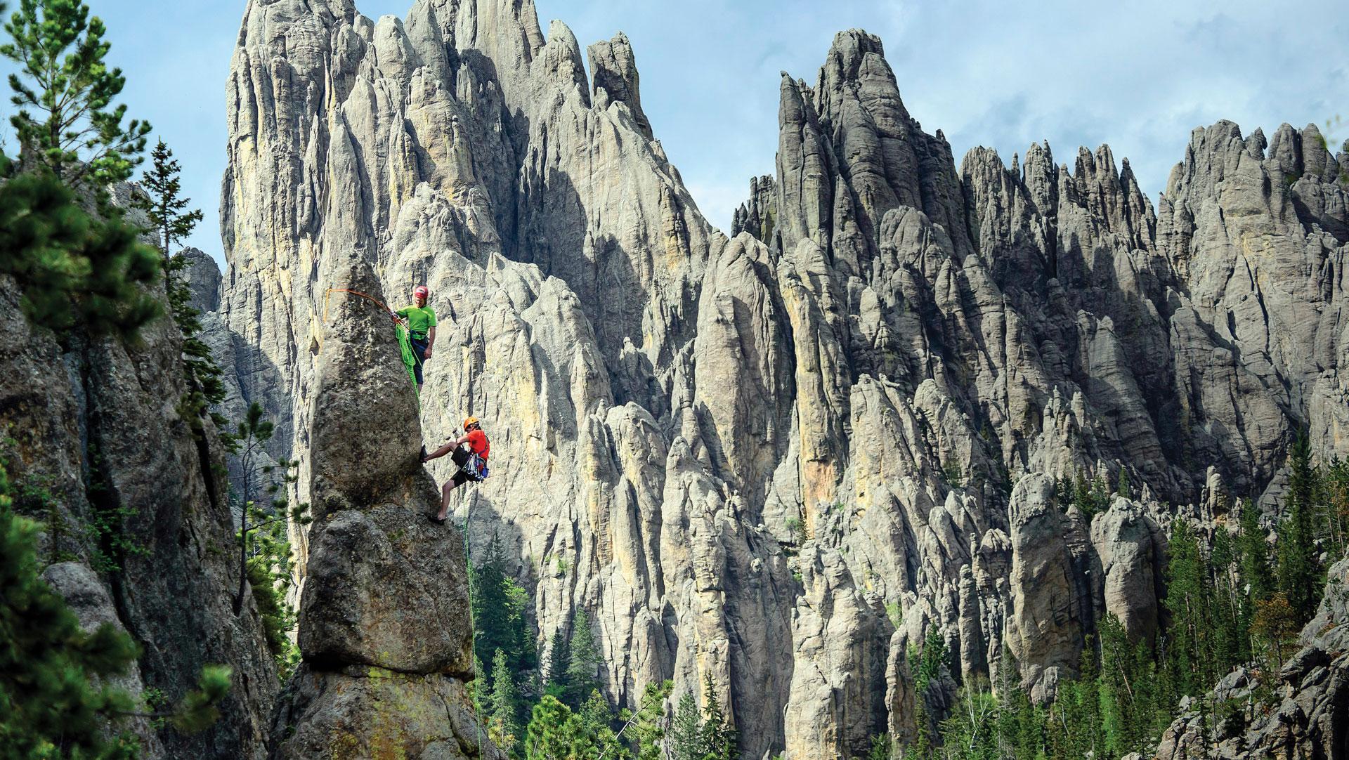 Rock Climbing In The Black Hills Black Hills Visitor