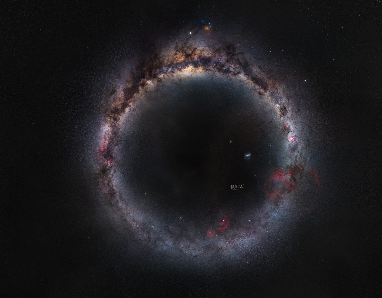 our galaxy seen as a ring