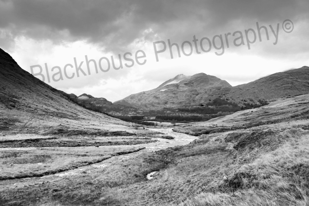 Blackhouse Photography moody Glen Etive Scotland