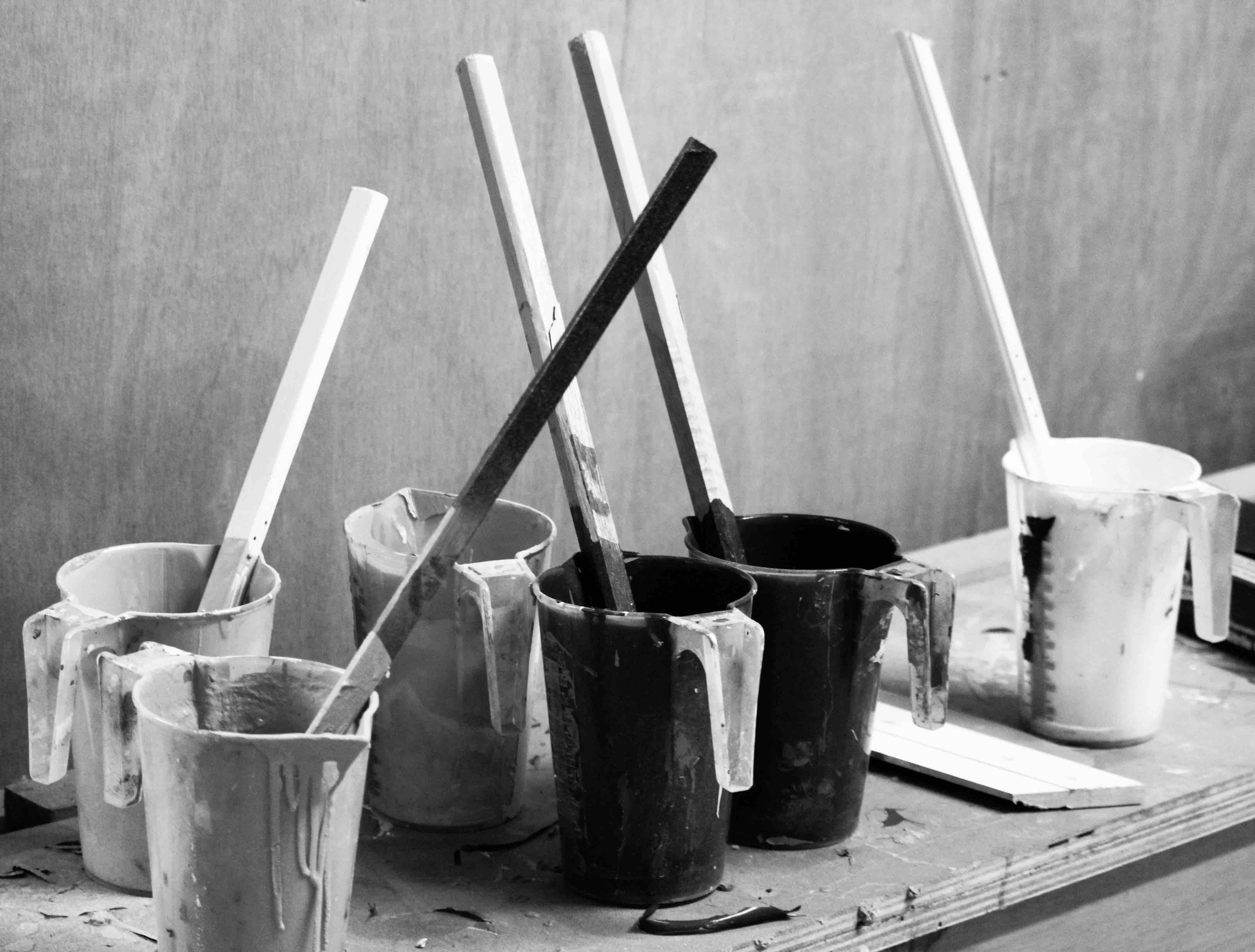 Blackhouse Photography Commercial Paint Pots