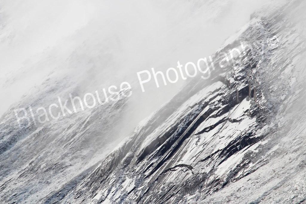 Blackhouse Photography misty rock Scotland