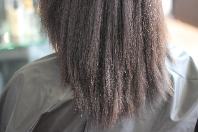 lisser les cheveux afro