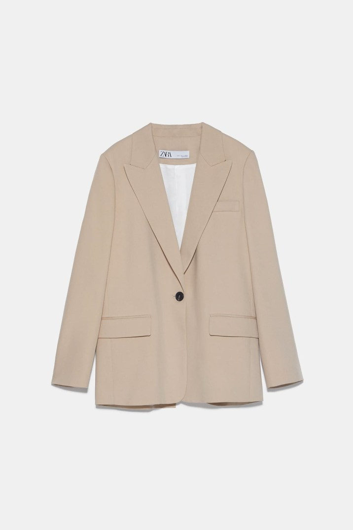 LOOSE-FITTING BUTTONED BLAZER ZARA