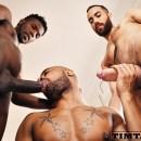 Santiago Bareback 3some