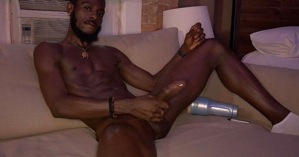 BruthaLoad: Jamaican Boi Solo with Fleshlight