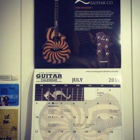 loucin guitar calendar zakk wylde buzsaw
