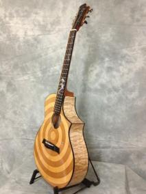 zakk wylde loucin bullseye acoustic guitar