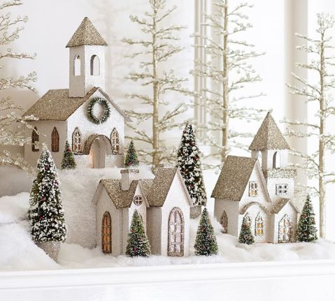 lit-german-glitter-village-houses-benefiting-give-a-little-o
