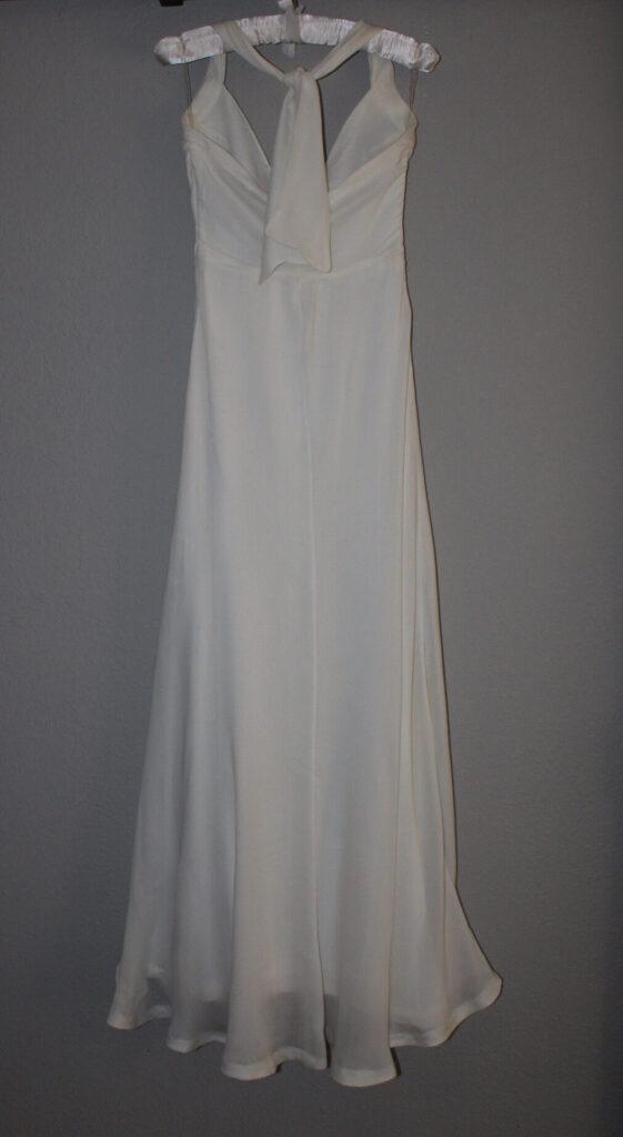 Back of Halter Dress