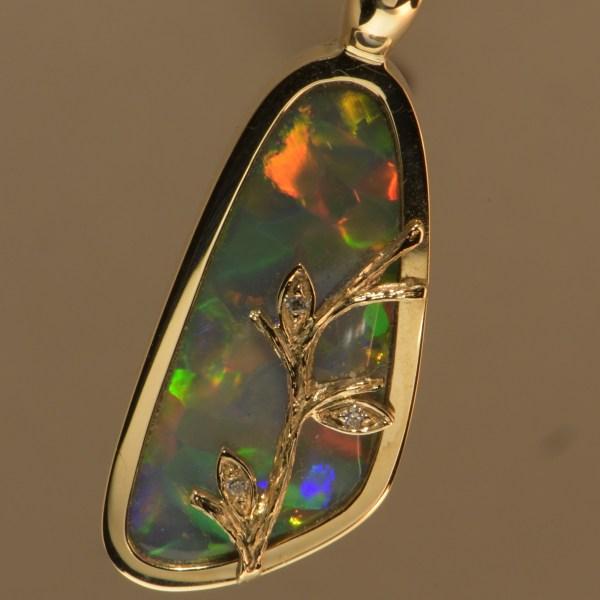 -gold-opal-pendant-hand-made-australian