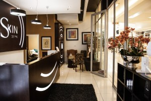 My skin centre retail design