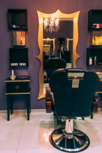 interior design for a salon