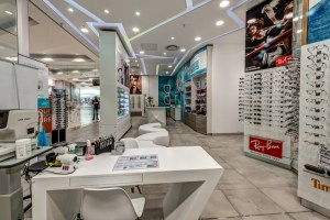 retail interior design - optometry