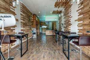 scuba vape cafe interior design and interior architecture