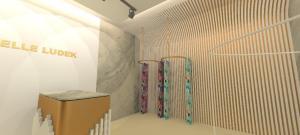 3d render interior design retail design