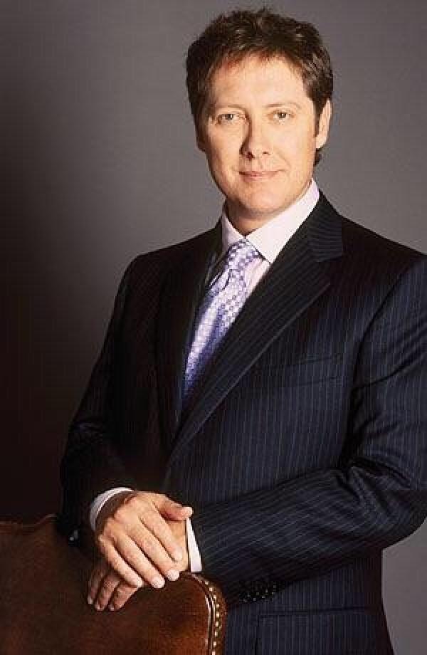 Boston Legal: James Spader as Alan Shore.