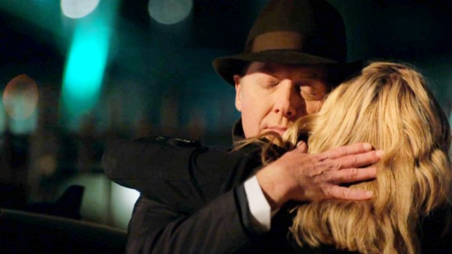 James Spader and Megan Boone in The Blacklist [3:10 The Director Part 2 ]