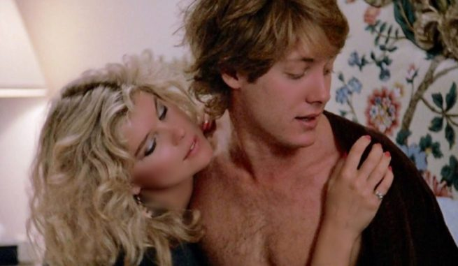 Kate Vernon and James Spader in Pretty in Pink
