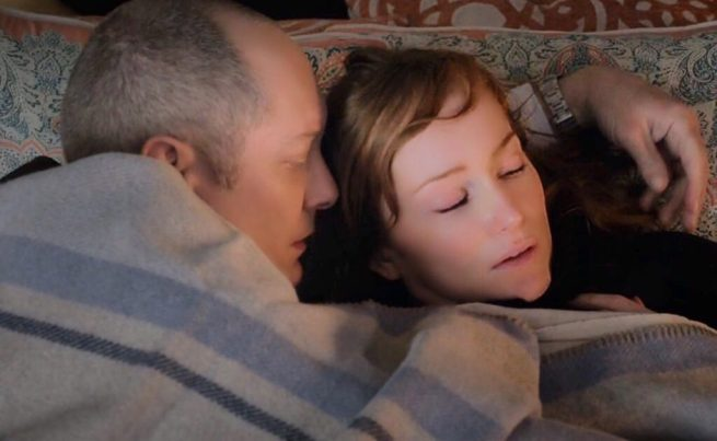 James Spader and Lotte Verbeek in The Blacklist [3:19 Cape May]