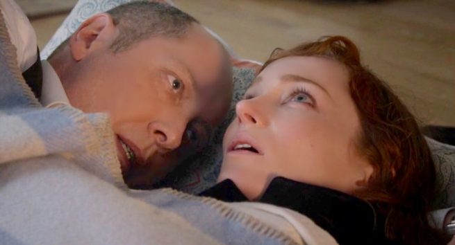 James Spader and Lotte Verbeek, The Blacklist [3:19 Cape May]