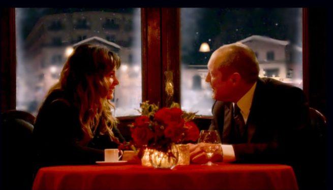 Stephanie Szostak and James Spader in The Blacklist [3:13 Alistair Pitt]