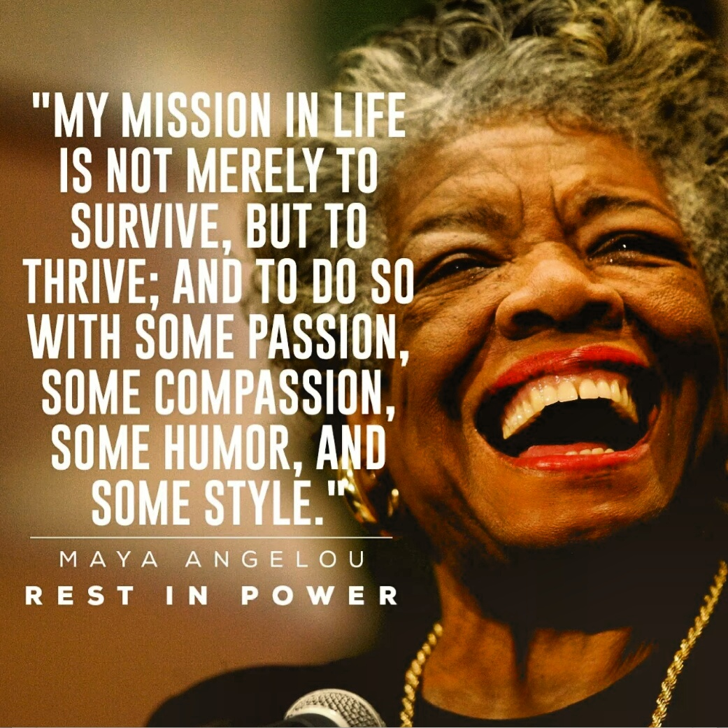 7 Quotes By Maya Angelou Tell Us Which One Is Your Favorite