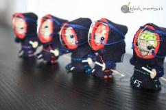Mujeres Kenshi 2014 amigurumi black mambart