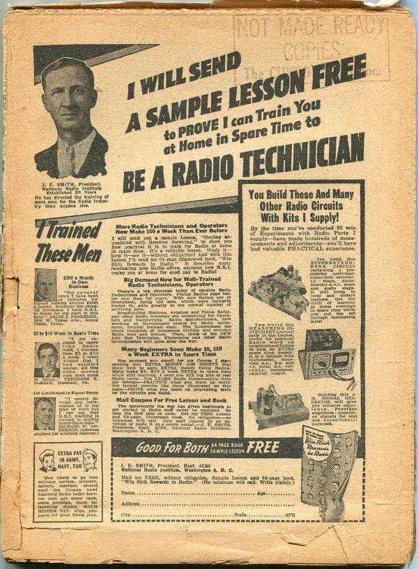 Black Mask Magazine (March 1944) – Publisher's File Copy