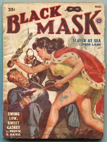 Black Mask Magazine (March 1950)