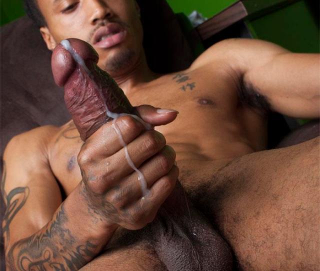 Thug Boy Cali Bandz Big Black Uncut Cock