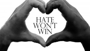 Hate Won't Win Logo