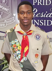 Youth Spotlight featuring Keith D. Baker II