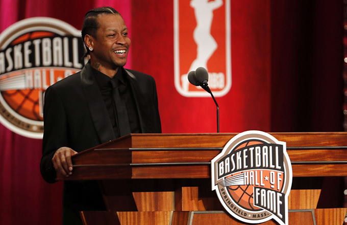 Allen Iverson's Emotional Hall of Fame Acceptance Speech