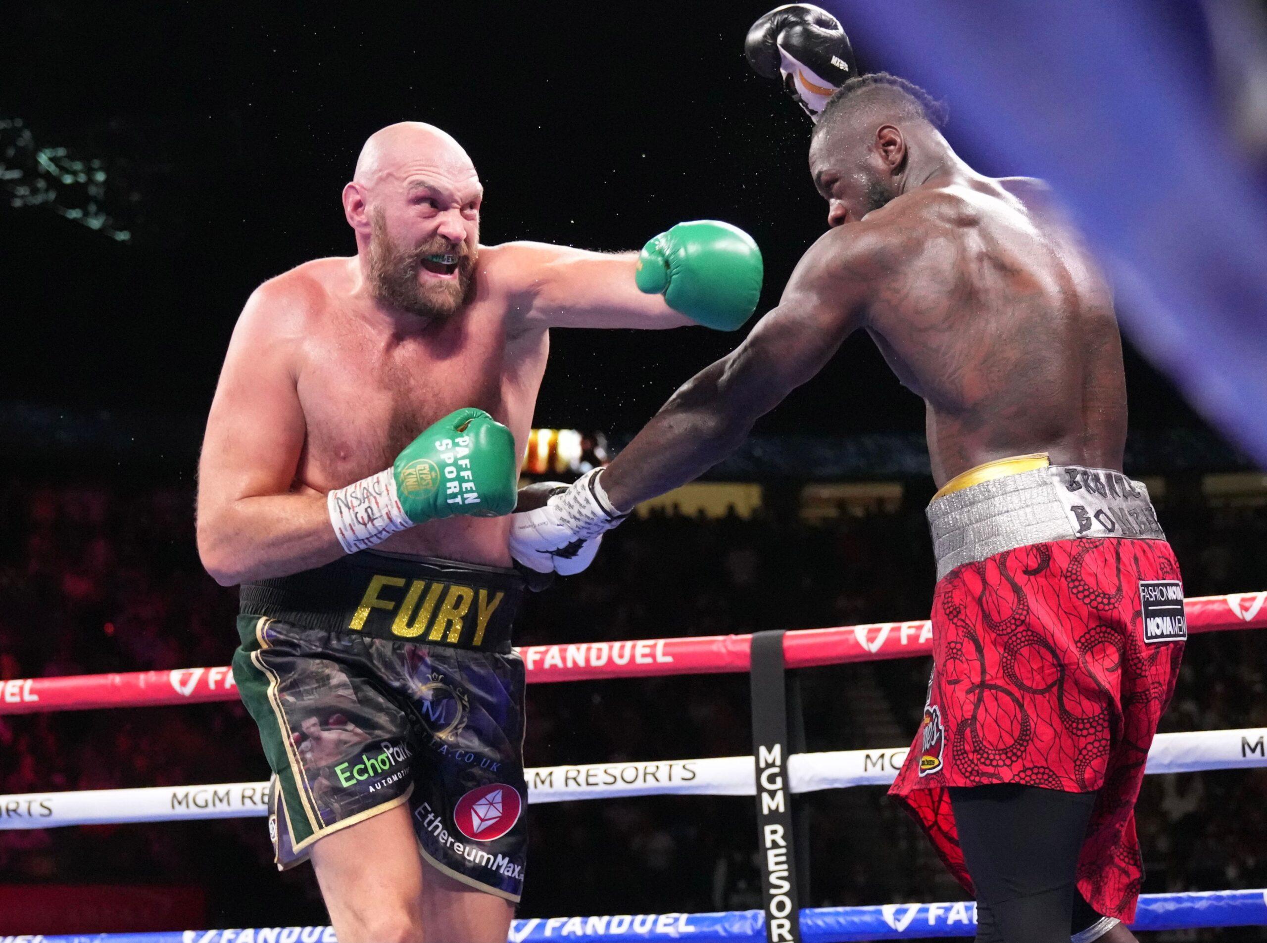 Fury Knocks Out Wilder to Retain WBC Heavyweight Title