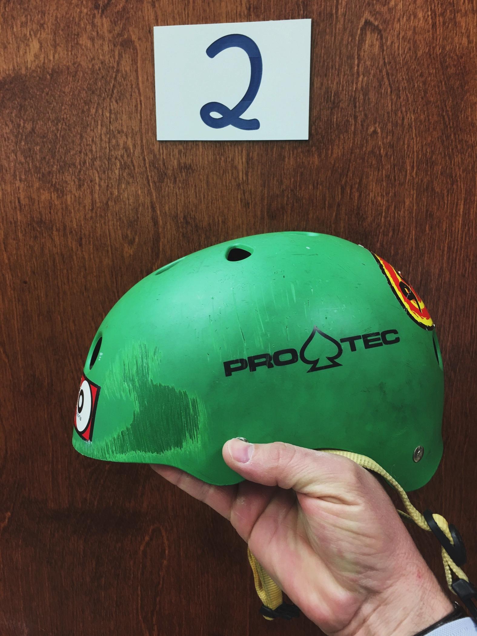 Wearing Helmets