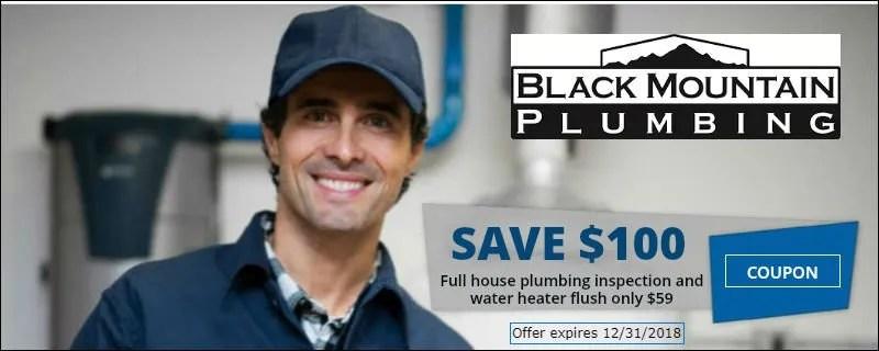 $100 Plumbing Coupon San Diego CA