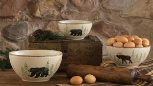 Rustic Retreat Dinnerware Park Designs